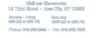 Hendo home remodeling showroom hours