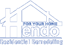 Hendo Contracting home remodeling logo
